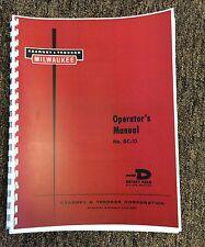Kearney Amp Trecker Operating Manual For Model D Rotary Head Milling Machine