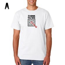 R 0172 OUTSIDE THE BOX Thinking Rationality Brain Criativity Inovation T-shirt