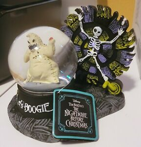 New Officially Licensed The Nightmare Before Christmas Oogie Boogie Snow Globe