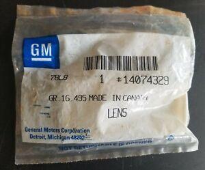 GM 14074329 Brand New Genuine OEM 1987-96 GM Van Dome Cargo Lamp Housing & Lens