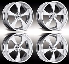 "17"" PRO WHEELS FORGED BILLET WHEELS JET V INTRO FOOSE US MAGS MUSCLE CAR HOT ROD"