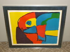 Vtg 1968 Signed KAREL APPEL Abstract Animal Artist's Proof LITHOGRAPH PRINT  ART
