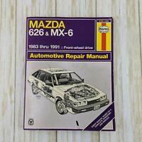 1983-1991 MAZDA 626 MX-6 Haynes Automotive Car Repair Manual Service Shop 1082