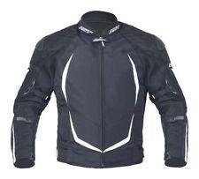 Blousons noirs textiles avec doublure taille M pour motocyclette