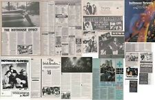 HOTHOUSE FLOWERS : CUTTINGS COLLECTION -adverts interviews-