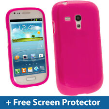 ROSA Lucido Custodia in TPU Gel Custodia per Samsung Galaxy S3 III MINI I8190 PELLE COVER GUSCIO