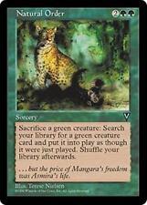NATURAL ORDER Visions MTG Green Sorcery RARE