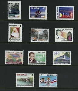 S777  Philippines   small  MNH selection -see scan