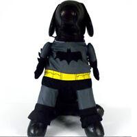 Perro de Batman ropa de disfraces para mascotas traje de disfraz de gato chalSE