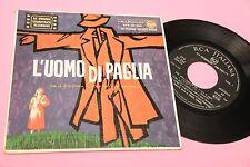 GERMI RUSTICHELLI EP L'UOMO DI PAGLIA OST ORIG ITALY 1958 COLONNA SONORA