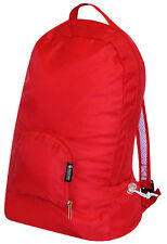 PAKitToMe Reusable Foldaway Back Pack Bag Can be Clipped to Keyring - Red