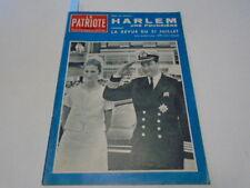 PATRIOTE ILLUSTRE N°30 ALBERT& PAOLA OSTENDE -FETE NATIONALE- MERCEDES 220 1964*