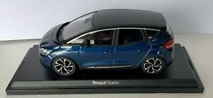 Renault Scenic 2016 in cosmos blue / black 1:43 scale, Norev model