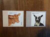 ICELAND 2018 YOUNG DOMESTIC ANIMALS SET 2  MINT STAMPS