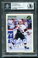 Keith Gretzky signed autograph auto 1993 Classic Pro Prospects Card BAS Slabbed