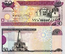 DOMINICAN REPUBLIC 50 Pesos Banknote World Paper Money Currency Pick p176a 2006