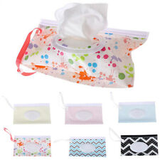 Baby Wet Wipes Bags Napkin Storage-Box Travel Wipe Case Cosmetic Portable New