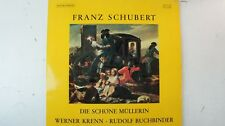 Franz Schubert Die schöne Müllerin Werner Krenn R Buchbinder SM007006 LP113