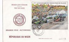 Niger 1981 75th anniversary Grand Prix de France FDC Unaddressed VGC