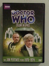 dr doctor who jon pertwee  COLONY IN SPACE     DVD genuine region 1