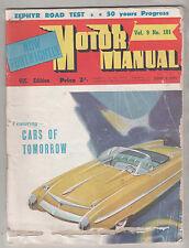 Motor Manual 1954 Jun 1 101 Ford Zephyr Mainline Ansair Packard Panther  Nasco