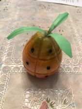 Vintage Italian Alabaster Pineapple Collectible Stone Fruit