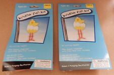 Easter Window Fun Kit Foam Shapes 2pks Makes 2 Hanging Decorations Chicks 111F