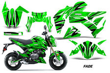 AMR Racing Kawasaki Z125 PRO Graphic Kit Dirt Bike Decals MX Wrap 2017 FADE GRN