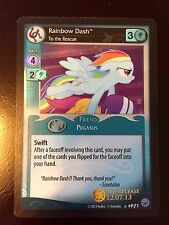 My Little Pony Trading Card Game Prerelease Rainbow Dash Exclusive Rare Limited