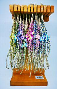 Mixed Colorful Plumeria Flower Fimo Clay Friendship Handmade Bracelets
