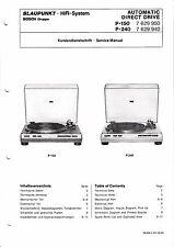 Service Manual-Istruzioni per Blaupunkt p-150/p-240