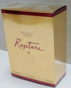 Victoria's Secret RAPTURE Perfume 1.7 oz 50 ml Cologne NEW Square shaped bottle