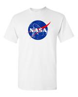 NASA retro logo vintage look space 80's - Mens T-Shirt