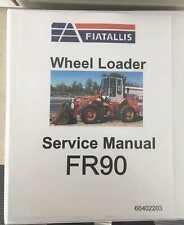 Fiat Allis Fr90 Servicerepair Manual 604002203