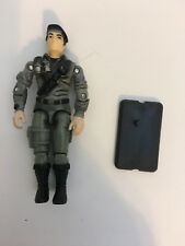 GI JOE 2002 DUSTY DESERT TROOPER (Driver of the Night Rhino) Loose with filecard