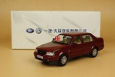 1:24 CHINA SVW Volkswagen Jetta Diecast Metal Model red color