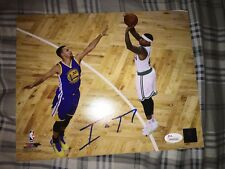 Isaiah Thomas Boston Celtics Signed Autographed 8x10 Photo Stephen Curry JSA