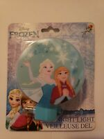 NEW Disney Frozen Princess Elsa & Anna Led Night Light CUTE