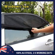 Pair Car Rear Window Sox Sun Shades Sock Baby Kids Protection for Mitsubishi