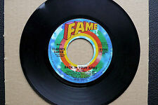 "7"" Clarence Carter - Back In Your Arms - US Fame"