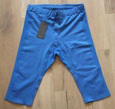 Aeance Capri Tights Leggings XL NEU Fitness Lauf Blau