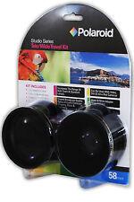 Studio Series 52/55/58mm .43x HD Polaroid Wide Angle Lens + 2.2X Telephoto Lens