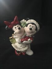 Lenox Disney Christmas Ornament Mickey and Minnie Mouse 2006 Excellent Condition