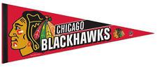 CHICAGO BLACKHAWKS Official NHL Hockey Premium Felt Collectors PENNANT