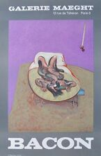 Francis Bacon Plakat Galerie Maeght 1966 Poster Kunstdruck Bild 71x45cm