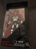 "Star Wars Jango Fett 6"" Black Series Action Figure"
