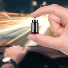 Mini Car Phone Fast Charger Mobile USB Connector Adapter For iPhone Samsung Dual