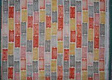 Moda fabric Twenty Three Eric & Julie Comstock Cosmo Cricket tickets one yard