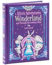 Alice's Adventures in Wonderland and Through The Looking Glass Book Hardcover