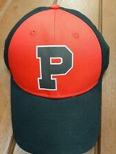NWT Polo Ralph Lauren Limited Varsity P Strapback Hat in Red and Black